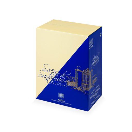 Caja de embalaje de vino para 6 botellas
