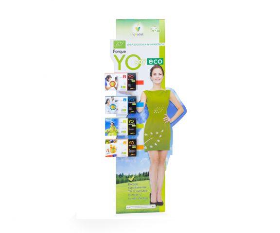 Expositor de productos nutricionales
