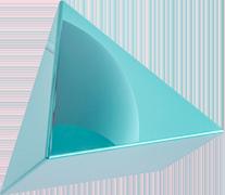 Pirámide en 3D