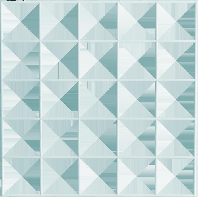 Rejilla en 3D azul
