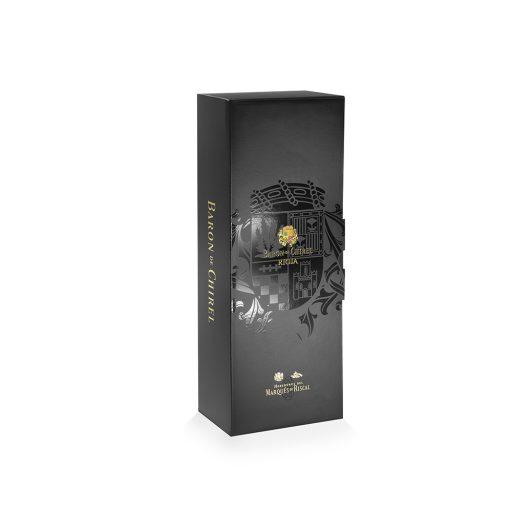 Box case of 1 bottle of wine Barón de Chirel