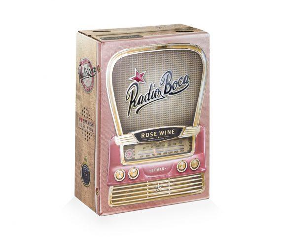 Emballage pour vin Radio Boca