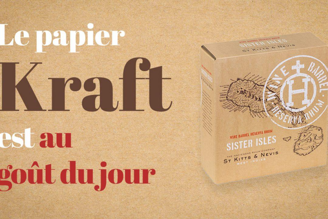 C'est un constat : le papier Kraft est au goût du jour