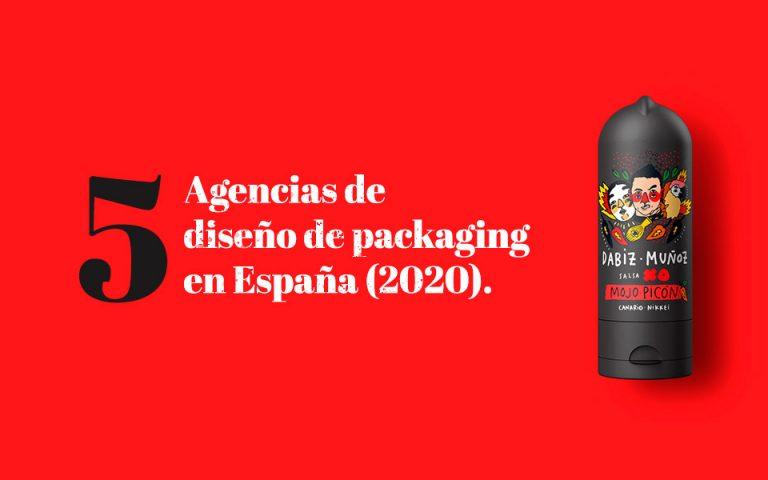 Cinco de las mejores agencias de diseño de packaging en España (2020).