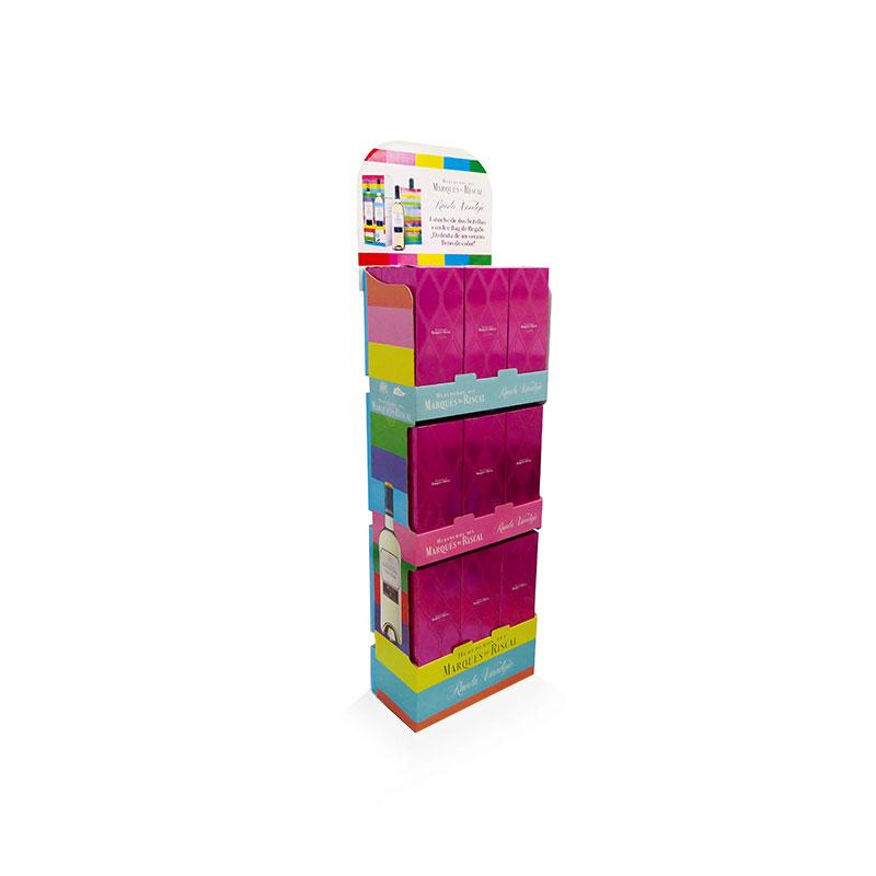 Box Palette pour des coffrets cadeau de vin Rueda Verdejo