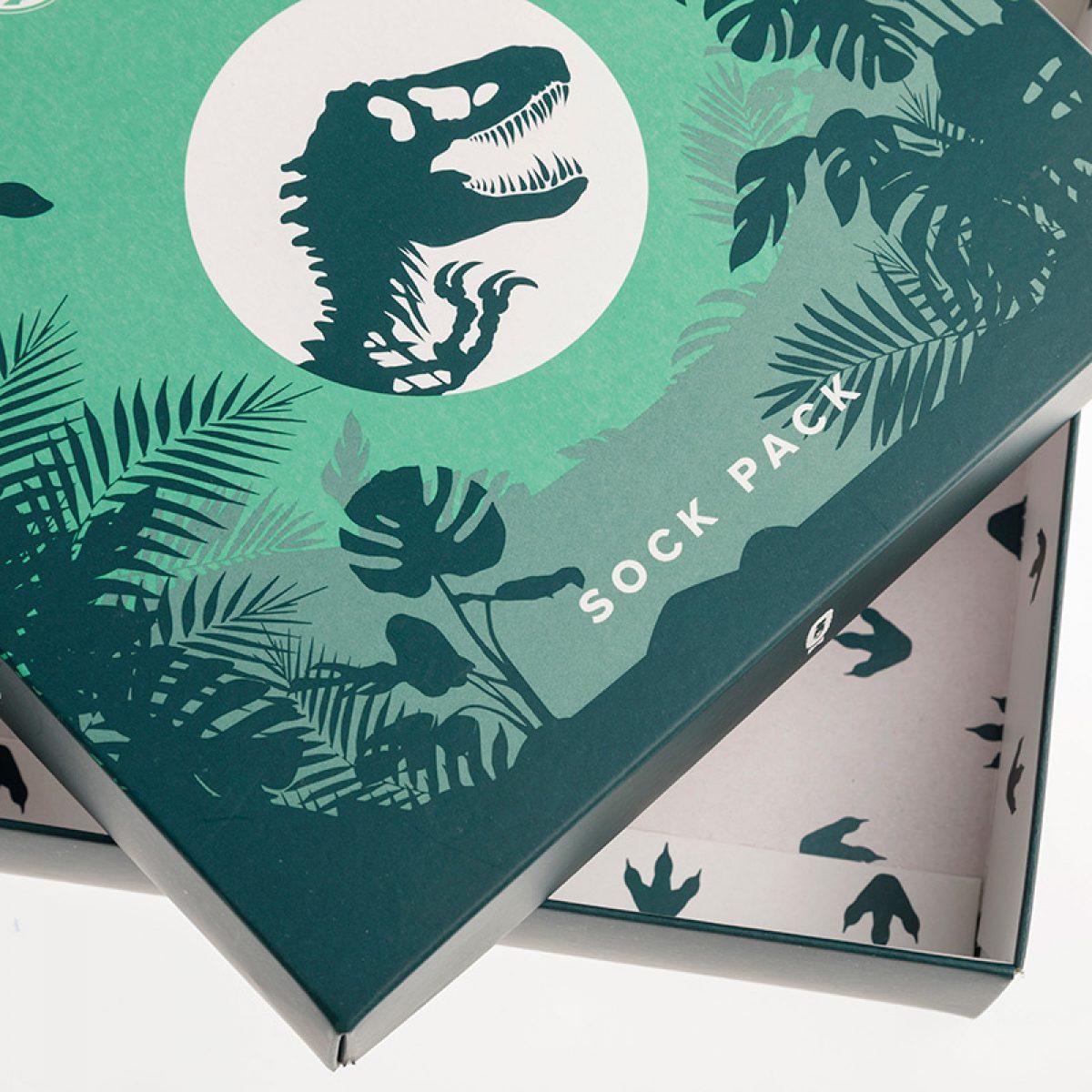 Caja de cartón personalizada con tapa y base Jimmy Lion
