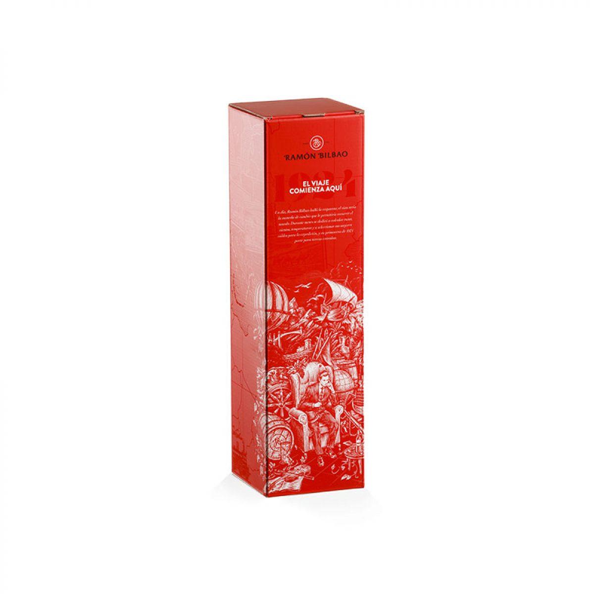 Caisse en carton pour magnum de vin
