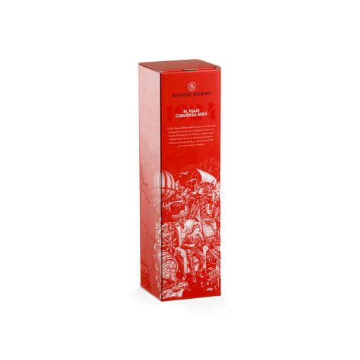 Cardboard box for magnum wine