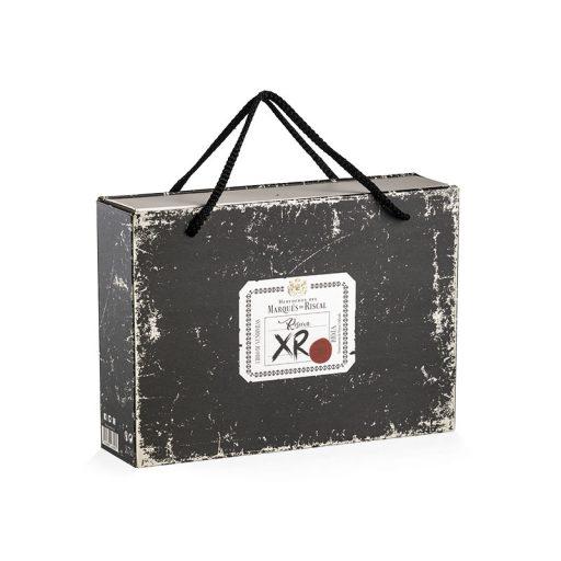 Matchbox-type box with handles Marqués de Riscal