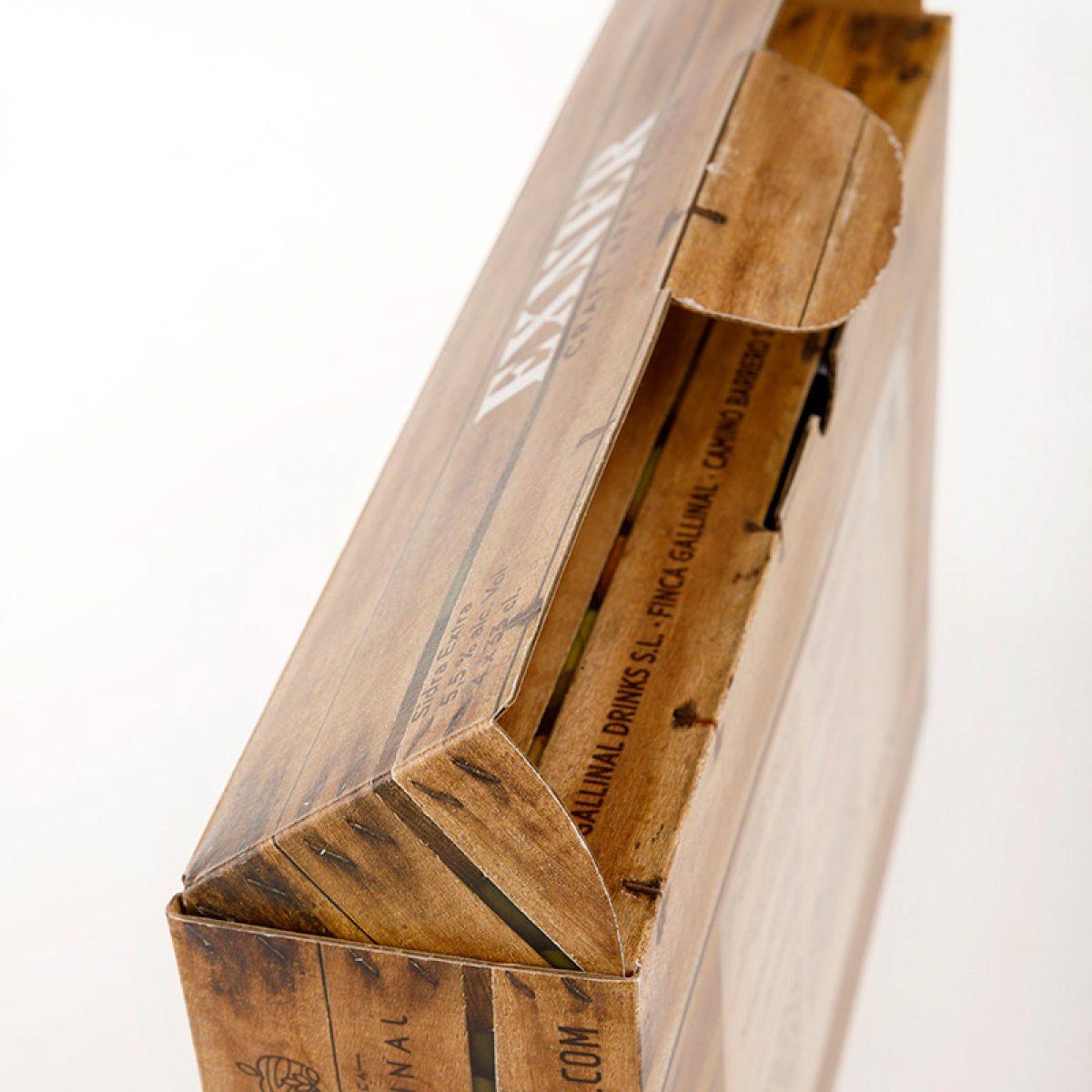 Packaging de sidra EXNER