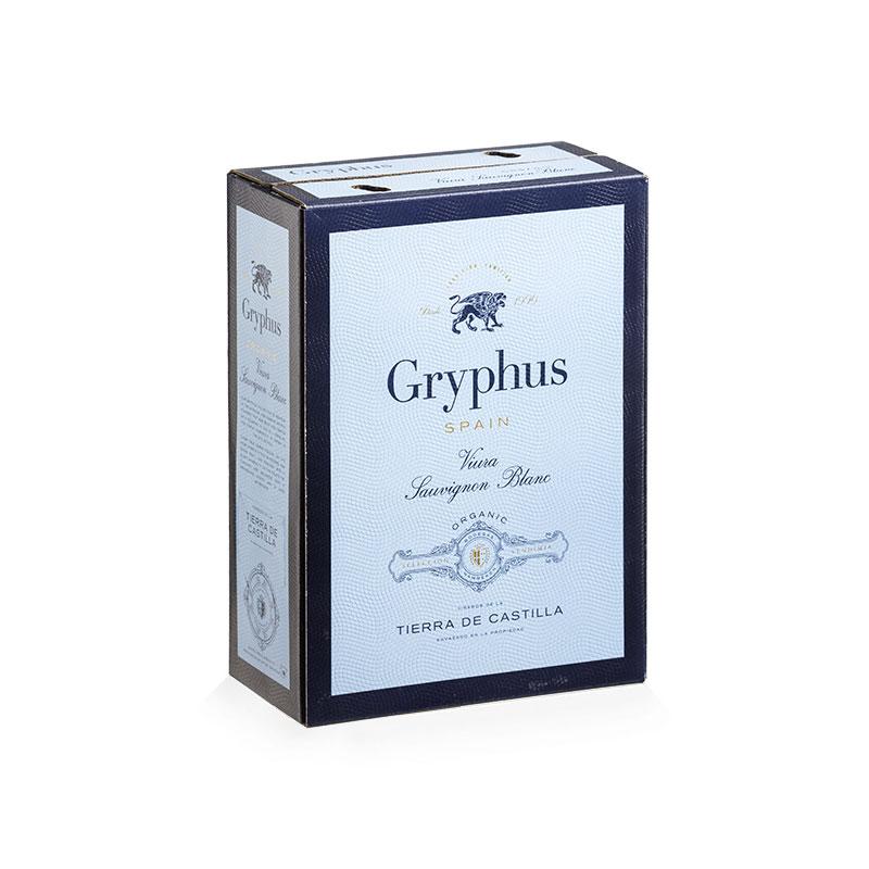 BAG IN BOX Gryphus cardboard box