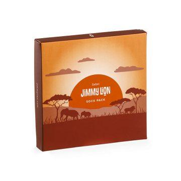 Personalised cardboard box Jimmy Lion
