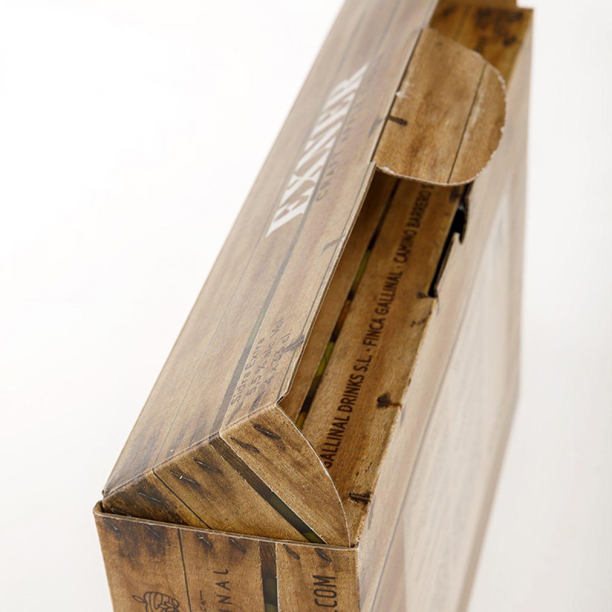 EXNER cider packaging