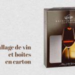 Emballage de vin et boites en carton, la meilleure option pour effectuer des envois de façon sûre et attrayante.